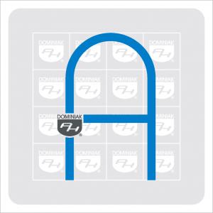 logo autorska wystawa aranżacja na tle kamieni piramida pełna autorskich grafik obrazów rysunków autor Henryk Jan Dominiak
