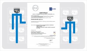 Muzeum Dominiak Certyfikat ISO 9001 PN-EN ISO 90012015-10 ISO 9001 2020 -1