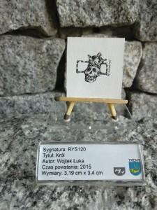 B120 postać / RYS120 KRÓL / Wojtek Łuka / 2015 / 2120 DOMINIAK AH™