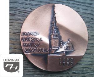 MMSPHJD-FAL87-–-JASNOGÓRSKA-MATKA-KOŚCIOŁA-1382-1982-awers-Henryk-Jan-Dominiak-300x248