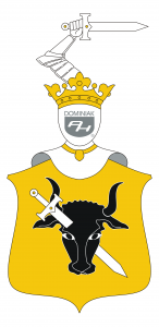 logo POMIAN herb szlachecki - autor Henryk Jan Dominiak 2019