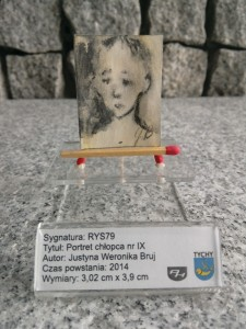 1 VI / RYSUNEK PORTRET CHŁOPCA nr IX - 2014.