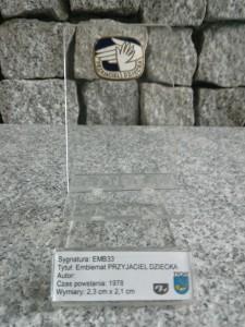 1 VI / ODZNAKA PRZYJACIEL DZIECKA - 1978.