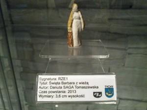 D1 / RZE1 ŚWIĘTA BARBARA Z WIEŻĄ / 2013 / 41 / DOMINIAK AH™
