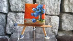 A69 dzieło malarza CHABRY ŁĄKOWE 2017