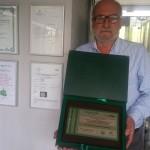 Henryk Jan Dominiak Zielony Czek 2019 Kategoria Działania popularyzatorskie i promocja postaw proekologicznych 1 fot.