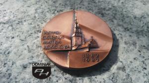 FAL87 – JASNOGÓRSKA MATKA KOŚCIOŁA 1382 1992 wymiar: 5,11 cm x 5,11 cm.