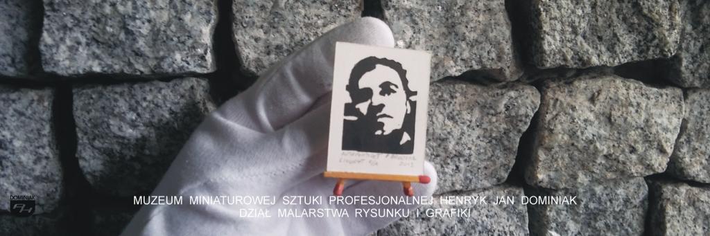 grafika GRAF1 – AUTOPORTRET PAWEŁ BRODZISZ 2013 Paweł Brodzisz