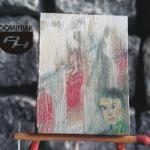 MAL36 – OBOJĘTNOŚĆ 2014 Justyna Weronika Bruj wymiar: 3,10 cm x 4,10 cm.