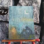 MAL37 – SAMOTNOŚĆ 2014 Justyna Weronika Bruj wymiar: 2,98 cm x 4,05 cm.
