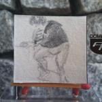 RYS89 – MARYNARZ 2014 Natalia Hirsz - wymiar: 3,90 cm x 3,69 cm.