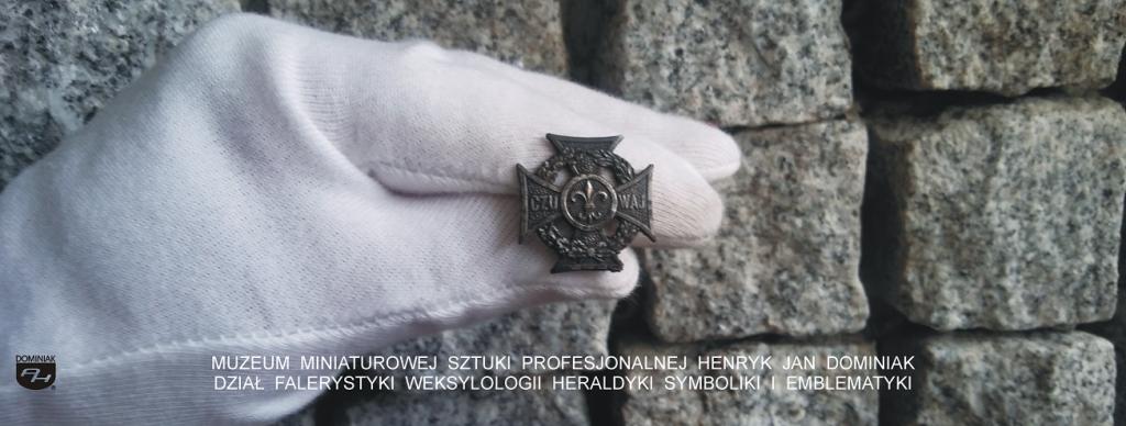 symbolika SYM13 – KRZYŻ HARCERSKI nr H 72 MW MET 1949 - 1