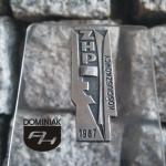 SYM15 – ZHP KOŚCIUSZKOWCY 1967 1967 wymiar: 1,48 cm x 4,11 cm.