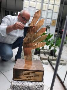 LAUREAT ZŁOTE ORŁY ROZRYWKI 2019 Muzeum Miniaturowej Sztuki Profesjonalnej Henryk Jan Dominiak w Tychach
