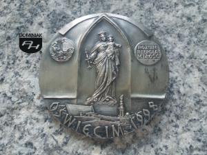 OŚWIĘCIM 1998 DA MIHI ANIMAS COETERA TOLLE ROZUM RELIGIA MIŁOŚĆ rewers