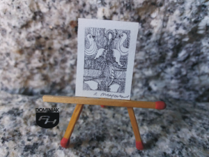 Key nr 1 grafika 2,00 cm x 2,70 cm autor Robert Marek Znajomski 2014