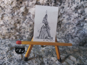 Key nr 12 grafika 1,80 cm x 2,75 cm autor Robert Marek Znajomski 2014