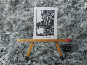 Key nr 2 grafika 2,00 cm x 2,60 cm autor Robert Marek Znajomski 2014