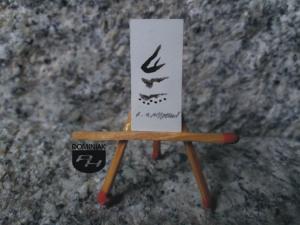 Key nr 2 rysunek tuszem 1,42 cm x 2,95 cm autor Robert Marek Znajomski 2014