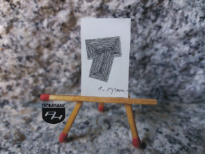 Key nr 4 grafika 1,80 cm x 2,80 cm autor Robert Marek Znajomski 2014