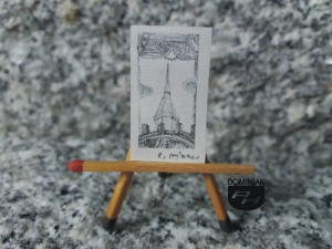 Key nr 7 grafika 1,80 cm x 3,25 cm autor Robert Marek Znajomski 2014