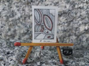 Key - red nr 1 grafika 1,90 cm x 2,60 cm autor Robert Marek Znajomski 2014