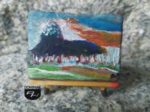 Painting 3 Rio de Janeiro Copacabana obraz olejny 4,30 cm x 3,00 cm autor Neywa Cezar 2013
