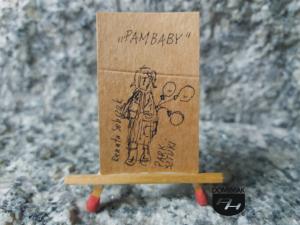 Pambaby Park Sztuki rysunek tuszem 2,61 cm x 4,15 cm autor Renata Sobczak 2015