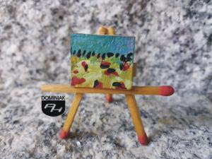 Pejzaż nr 2 płótno olej 2,00 cm x 1,70 cm ojciec Robert Marek Znajomski 2013