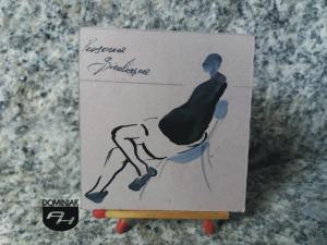 Persona Siedząca rysunek tuszem 5,30 cm x 5,50 cm autor Piotr Mosur 2013
