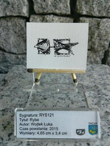 Okaz / B121 Miniaturowy rysunek Muzeum