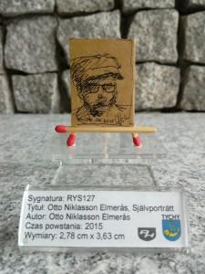12 h / OTTO NIKLASSON ELMERÅS SJÄLVPORTRÄTT – Otto Niklasson Elmerås 2015