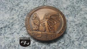 eden FAL65 – W 50 ROCZNICĘ III POWSTANIA ŚLĄSKIEGO 1921-1971 ŚLĄSKI INSTYTUT NAUKOWY W KATOWICACH wymiar: 5,98 cm x 5,98 cm.