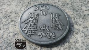 """FAL79 – KOPALNIA WĘGLA KAMIENNEGO """"MURCKI"""" 350 LAT 1657 2007 wymiar: 6,91 cm x 6,91 cm."""