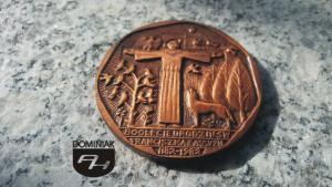 FAL92 – BÓG MÓJ I WSZYSTKO wymiar: 5,01 cm x 5,01 cm.