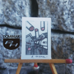GRAF16 – KEY – RED nr 2 2014 Robert Marek Znajomski – wymiar: 2,00 cm x 2,80 cm.