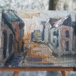 MAL14 – ULICA NOWOKOŚCIELNA W ŁĘCZNEJ 2013 Paweł Brodzisz wymiar: 4,0 cm x 3,0 cm.
