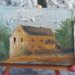 MAL31 – MŁYN w ŁĘCZNEJ 2014 Paweł Brodzisz wymiar: 4,0 cm x 3,0 cm.