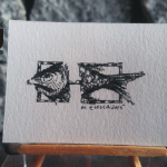 RYS121 – RYBA 2015 Wojtek (Wojciech) Łuka - wymiar: 3,65 cm x 3,40 cm.