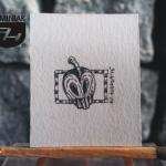 RYS122 – ZATRUTE JABŁKO 2015 Wojtek (Wojciech) Łuka - wymiar: 2,61 cm x 3,40 cm.