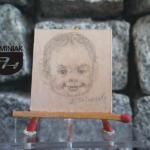 RYS59 – DZIECIŃSTWO nr 1 2014 Volodymyr Goncharenko (Володимир Гончаренко) - wymiar: 3,10 cm x 3,30 cm.