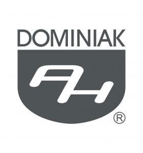 E 22b obiekt na samochodowym szlaku turystycznym znak drogowy logo Muzeum DOMINIAK