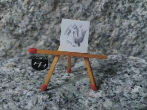 Anioły rysunek ołówkiem 1,59 cm x 1,90 cm autor Volodymyr Goncharenko 2014