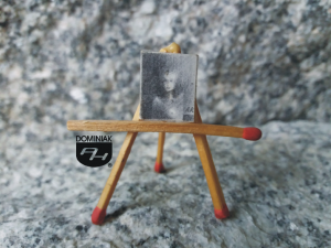 Czarny łabędź nr 4 1,20 cm x 1,50 cm autor Agata Ruman 2013