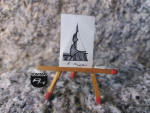 Key nr 10 grafika 1,85 cm x 2,75 cm autor Robert Marek Znajomski 2014
