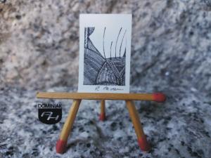 Key nr 11 grafika 1,80 cm x 2,75 cm autor Robert Marek Znajomski 2014