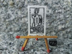 Key nr 3 grafika 1,90 cm x 3,15 cm autor Robert Marek Znajomski 2014