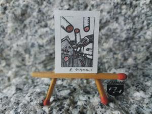 Key - red nr 2 grafika 2,00 cm x 2,80 cm autor Robert Marek Znajomski 2014