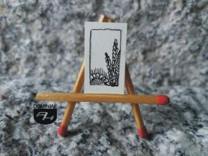 Kresowe Święto Plonów rysunek tuszem 1,32 cm x 2,21 cm autor Robert Marek Znajomski 2012