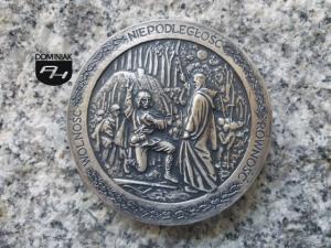 Czachowski Dionizy WOLNOŚĆ NIEPODLEGŁOŚĆ RÓWNOŚĆ rewers